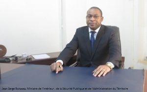 CENTRAFRIQUE / Jean Serge Bokassa, installé dans ses fonctions du Ministre de l'Intérieur, de la Sécurité Publique et de l'Administration du Territoire