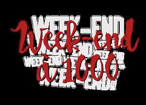 Challenge - Week end à 1000
