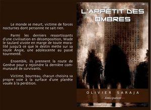 L'appétit des ombres - Olivier Saraja - Auto-édition