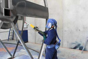 Sand Blasting - Smooth Out Rough Surfaces