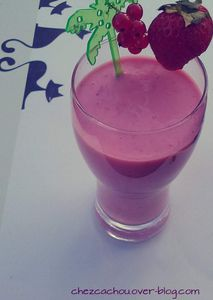 Smoothie acidulé