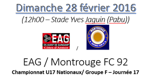 match EAG-Montrouge 92