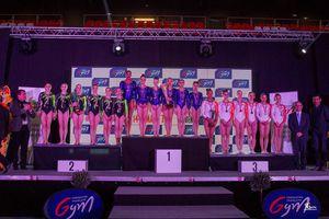 L'équipe de Dijon vainqueur en 2015
