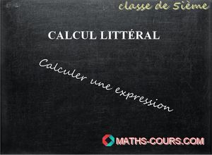 calculer une expression