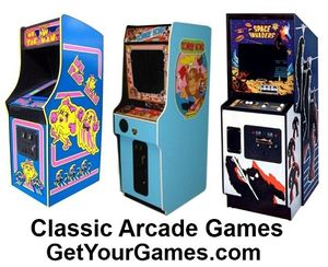 Classic Arcade Games! Own Your very own Today!