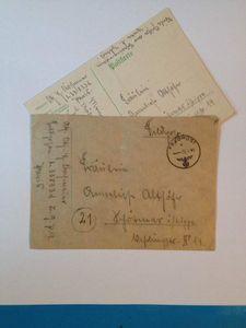 Correspondance d'un Fallschirmjäger 09 MAI 1944