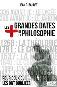 Les plus grandes dates de la philosophie