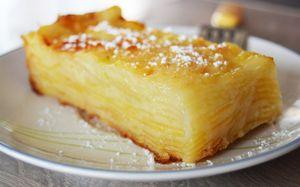 Le fameux gâteaux aux pommes light