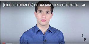 France, Europe, Monde, Divers. [BILLET D'HUMEUR] LE SALAIRE DES PHOTOGRAPHES