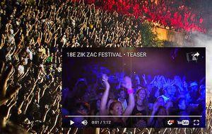 France ZIK ZAC 2016. Festival Gratuit. Aix en Provence. Teaser vidéo.