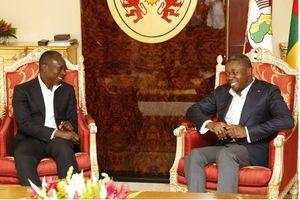Le Président Patrice TALON rend une visite de courtoisie et d'échange à son homologue Togolais.