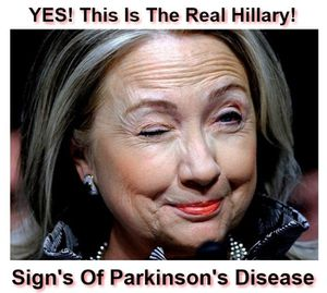 Hillary's Health Condition Caught On Camera Once Again!