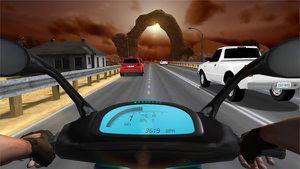 Algumas dicas no jogo de Traffic Rider