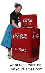 Own Your Own Nostalgic Reproduction Coca Cola Machine!