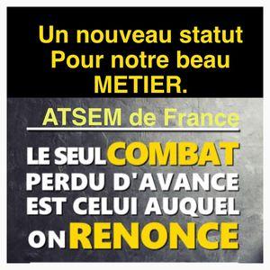 Les ATSEM DE FRANCE s'unissent