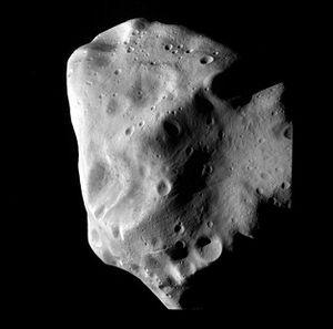 Lutetia Asteroid