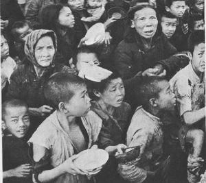 Famine en Chine, fin des années 1950
