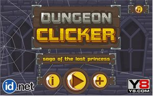 Cookie Clicker Dungeon Clicker