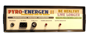 PYROENERGEN II Am Amazing Electrstatic Therapy Machine! Remove Conditions!