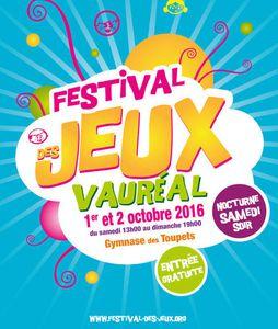 Festival des jeux vauréal !!!!