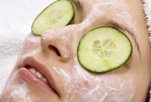Masque clarifiant au concombre