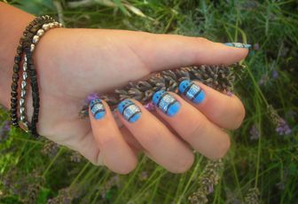 Nail Art Paillettes !