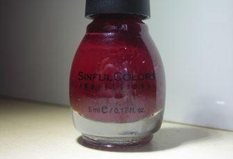 Sinful Colors - Rouge Cerise (M1038)