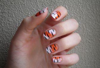 Nail Art Tigre