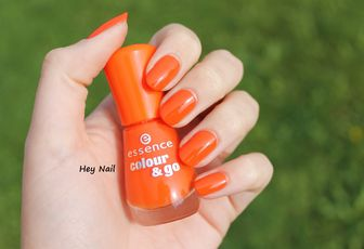 Essence Colour & Go n°145 - Flashy Pumpkin
