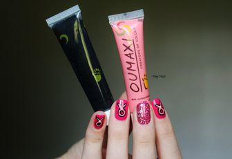 Nail Art Octobre Rose #2