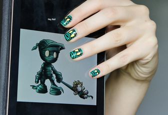 Nail Art Amumu For Halloween !