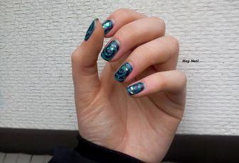 Nail Art Spirales