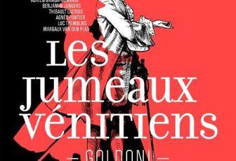 Carnet de théâtre : Les Jumeaux Vénitiens au Théatre Hébertot à Paris.