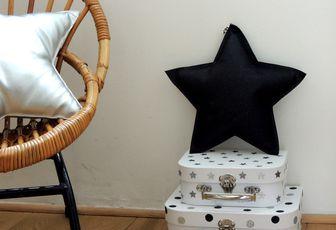 DIY : customisation de petites valisettes en noir et blanc