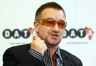 Bono félicite François Hollande