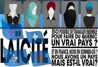 Laïcité : Charte des valeurs québécoises