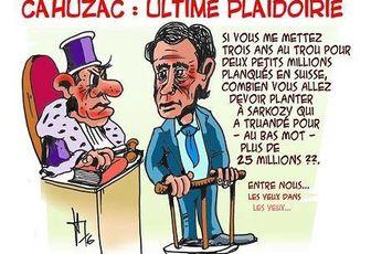 Humour du jour : Cahuzac et Sarkozy