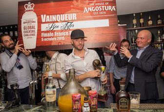 "Angostura ""And the winner is..."""