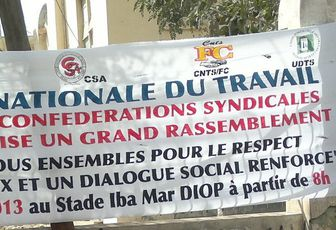 PIT-SENEGAL: DÉCLARATION DU PREMIER MAI 2013