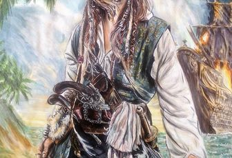 Jack sparrow pirates of the caribbean