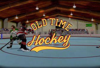 TEST de OLD TIME HOCKEY (sur PS4): du NHL (vraiment) old school