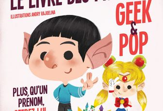 [REVUE LIVRE PAPA GEEK] LE LIVRE DES PRENOMS GEEK & POP de Nicolas BONNEFOY aux éditions HACHETTE HEROES