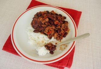 Chili con carne rapide & facile