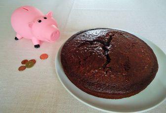 Gâteau au chocolat économique