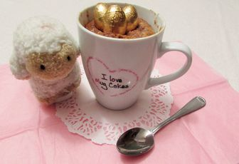 Mug cake de #pâques