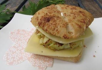 Veggie burger courgette & fromage