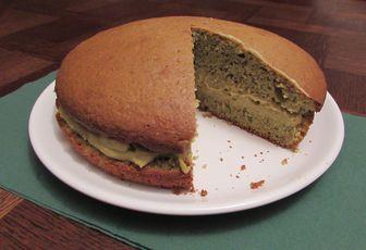 Gâteau 100% pistache