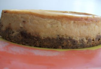 Cheese cake au speculoos
