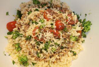 Salade de pâtes Arlequin