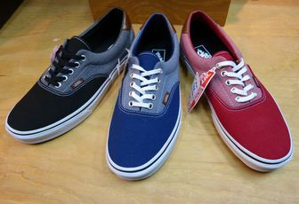 Vans Era Canvas & Chambray Pack
